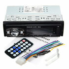 652 Car Radio Stereo MP3 Player Support 4 Channels FM USB In-Dash 1 Din#