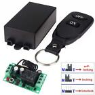 DC 12V 10A 3 Modes 1CH Wireless Remote Control Switch Transmit Receiver Learning