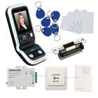 1000 Face Capacity Face Access Control System Kit & North American Strike Lock