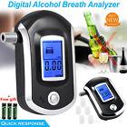 Advance Police Digital Breath Alcohol Tester LCD Breathalyzer Analyzer Detector