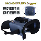 LS-008D DVR Diversity FPV Goggles 5.8G 40CH For Hubsan 501s 502s Auto-searching