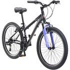 "24"" Schwinn Girls Mountain Bike - Sidewinder - 21 Speed - Aluminum Black Frame"