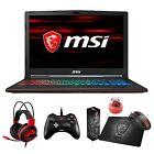 "MSI GP63 Leopard 15.6"" 120Hz (3ms) Core i7-8750H GTX 1060 1050Ti Gaming Laptop"