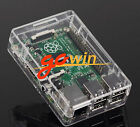 5X Transparent Clear Case Boxes Raspberry Pi 2 B Case Cover Enclosure Box ABS V2