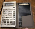 Vintage Texas Instruments TI BA-II Executive Business Analyst Calculator w/Guide