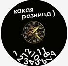 Difference Watch Vinyl Record Wall Clock Living Room Home Decor Art Gift Idea