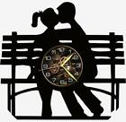 Bench Watch Vinyl Record Wall Clock Living Room Home Decor Art Gift Idea New