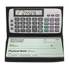 Datexx DB-413 Checkbook Calculator Black One Size