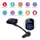 BT06 Bluetooth Car Kit FM Transmitter MP3 Player Support TF U-disk USB Charger R