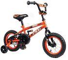 TAUKI BOYS KIDS 12-INCH BMX BIKE--AGE 2-5--TRAINING WHEELS-95% ASSEMBLED--ORANGE