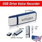 Maxpro USB Digital Voice Recorder Flash Drive Memory 8gb, New, Free Shipping,New