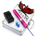 RBH4 450nm Adjustable Focus Blue  Laser Pointer & Battery &Charger &Goggles
