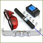 BH4  Black High Power 450nm Blue Laser Pointer Cigarette Lighter Pop Balloons