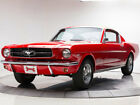 Mustang 2+2 1965 Ford Mustang 2+2 289 V8 3 Speed Automatic Fastback Rangoon Red