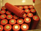 55 Sanyo RED TOP 18650 batteries tested 1000MAH to 1900MHA