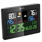 aom Indoor Outdoor Weather Station, Color Weather Forecast with Temperature Humi