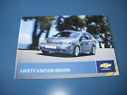 CHEVROLET  LACETTI  STATION WAGON   CAR BROCHURE FROM  2009  FREE UK P & P