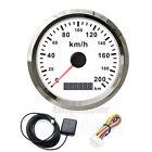 85mm GPS Speedometer Stainless waterproof Digital Gauges 200KM/H For car Truck