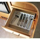 """Camco Adjustable Cutlery Tray - Designed for RV and Compact Kitchen Drawers , 9"""""""