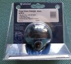 ATTWOOD PULSAR GREEN SIDELIGHT, BLACK, w/WIRE HORIZONTAL DECK MOUNT PART #5040G7