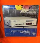 ((New Open Box)) General Electric GE Spacemaker 7-4262 Clock AM FM/cassette