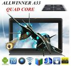 New Android Tablet Black Quad-Core A-33 And 4.4 8G RAM WiFi Dual Camera & More!