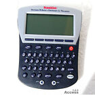 New Franklin Pocket Electronic Merriam Webster Dictionary & Thesaurus