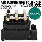 et 4H0616013A Air Suspension Solenoid Valve Block For Audi A7 Quattro 4-Door ea