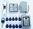 Metal 125KHz RFID Card +Password Door Access Control System+Strike Lock+10 Cards