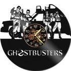 Ghostbusters Watch Vinyl Record Wall Clock Living Room Home Decor Art Gift Idea
