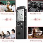 T60 8GB/16GB Digital Voice Recorder Time Display Dictaphone MP3 Player CL