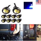 6Pcs 23mm Blue LED Backup Reverse Lights 6000k Polaris Ranger ATV RZR Sportsman