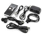 Digital Voice Recorder Black GH-609 Steel Digital Audio Black + Silver