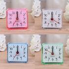 Square Mini Alarm Clock Bed Compact Travel Quartz Beep Bell Cute Portable Clock