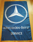 Mercedes-Benz Service Flag Garage Man Cave Automotive Shop Banner 5x3FT