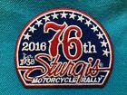 76th Annual STURGIS Motorcycle Rally 2016 - Black Hills South Dakota -NEW Patcha