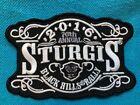 76th Annual STURGIS Motorcycle Rally 2016 - Black Hills South Dakota-NEW Patch e