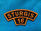 76th Annual STURGIS Motorcycle Rally 2016 - Black Hills South Dakota-NEW Patch d