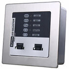 Stainless Steel Panel Auto-Door Button LED Switch Selector Sensor With Password