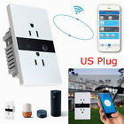 Smart Wall Outlet Plug WiFi In-Wall Socket Remote Control Time Alexa Google Home