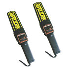 2x Professional Hand Held Metal Detector Safe Scanner Security with Holster