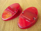 VW ULO VOLKSWAGEN GERMANY TAILLIGHT LENS BUG TYPE 1 BEETLE 1962-1967 LENSES
