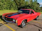 1972 Chevrolet El Camino 396 BIG BLOCK WITH SS TRIM 1972 CHEVROLET EL CAMINO 396 BIG BLOCK WITH AIR CONDITIONING GORGEOUS RED PAINT