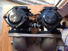West Coast 650  Duel Intake Manifold With  Two 44mm Mikuni Carbs And Reed Cages