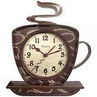 Westclox(R) 32038 Coffee Time 3-Dimensional Wall Clock