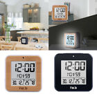 LCD Digital Alarm Clock Calender Temperature Thermometer Display Time Watch