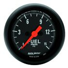 AutoMeter 2661 Z-Series Electric Fuel Pressure Gauge