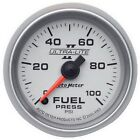 AutoMeter 4963 Ultra-Lite II Electric Fuel Pressure Gauge