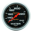 AutoMeter 5433 Pro-Comp Liquid-Filled Mechanical Water Temperature Gauge