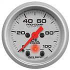 AutoMeter 4352 Ultra-Lite Electric Oil Pressure Gauge